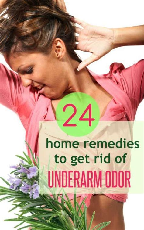24 effective home remedies to get rid of underarm odor