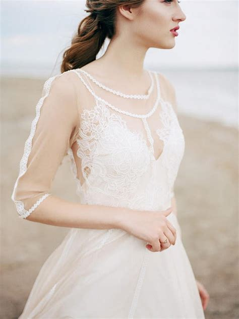 Spitzenkleid Hochzeitskleid by B 246 Hmisches Hochzeitskleid