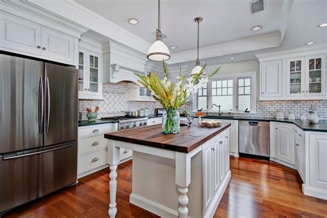 Types Of Kitchen Countertops Kitchen Traditional With Types Of Kitchen Countertops