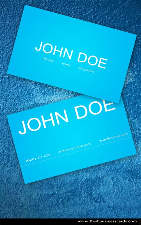 business card template therapy blue business card unique business cards