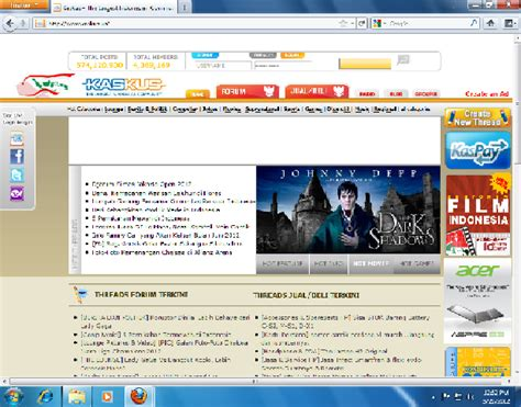 Tutorial Website Kaskus | tutorial membuka kaskus melalui firefox luthfiassegaf