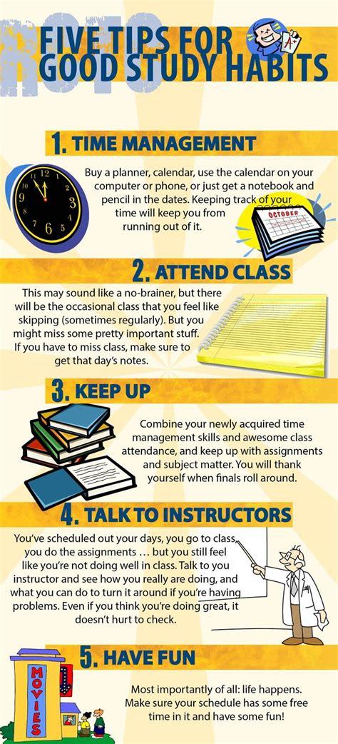 tips  good study habits studying tips study tips
