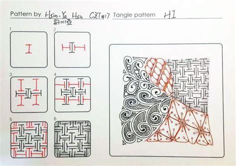 zentangle pattern sson de 25 bedste id 233 er til tangle m 248 nstre p 229 pinterest