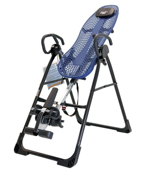 teeter ep 950 inversion table with back relief dvd
