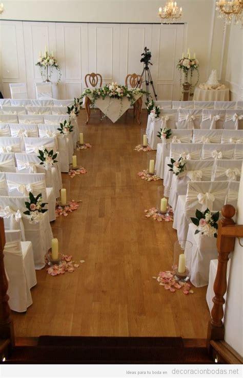decoracion boda civil ideas para la decoraci 243 n de una boda civil bonita y con