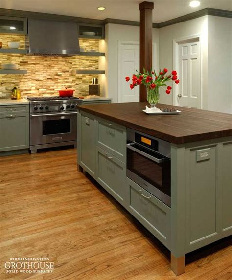 kitchen islands with columns 646 best wood countertop images on