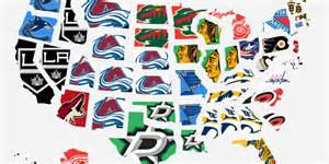 Nhl Standings Map The Most Popular Nhl Team In Every State Business