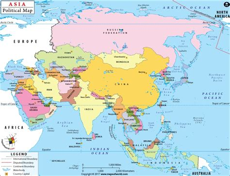 map of asai asia map with country names free world map