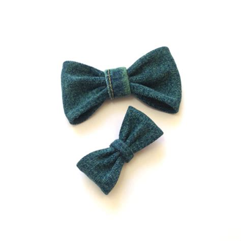 custom made to order denim bow ties and bows 183 bruisers n