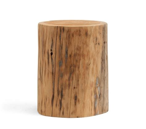 Stump Side Table Stump Side Table Pottery Barn
