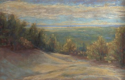 pastel painters of cape cod pastel painting plein air study cape cod dunes landscape