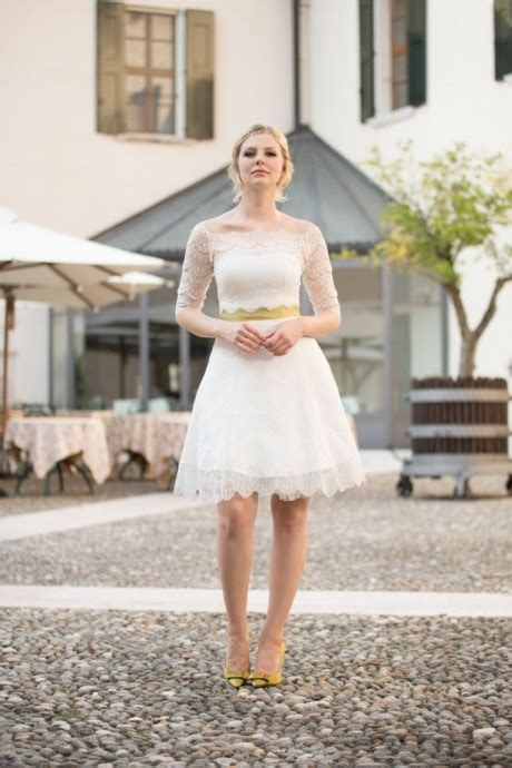 Brautmode Kurze Kleider by Kurze Brautkleider Standesamt Hochzeitskleider L 228 Ssig Frech