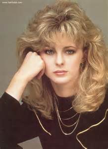 1980 bob hairstyle romantic long 1980s hairstyle with layers around the bangs