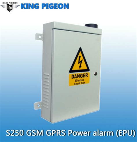 Alarm Power Guard king pigeon home guard gsm sms temperature alarm