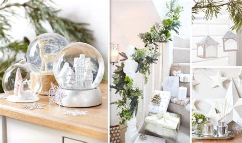 best white and silver decorations for christmas 2014
