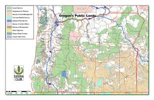 oregon land ownership map oregon chapter club