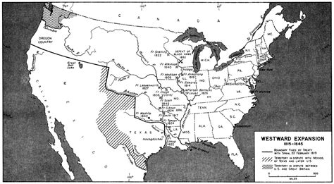 expansion of united states to 1833 map westward expansion blank printable map search results