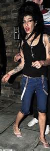 Winehouse In Another Mess by Winehouse In Tears As She Is Arrested Pub Assualt