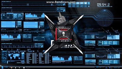 pc themes kickass fully customize desktop windows theme 2013 alienware