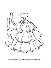 fashion dress coloring pages getcoloringpages