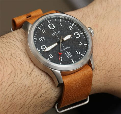 avi 8 flyboy 4021 automatic review ablogtowatch