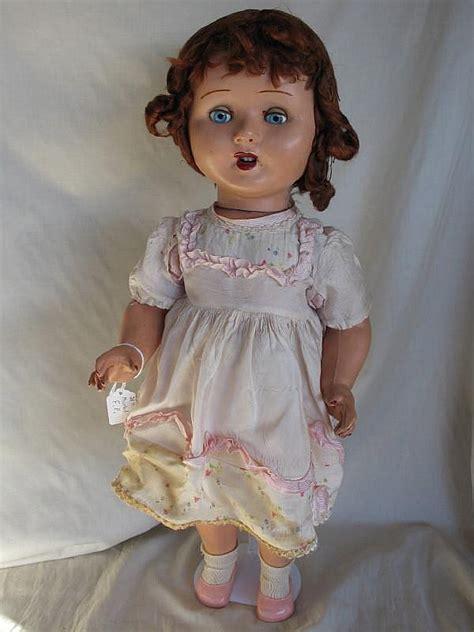 porcelain doll 1940s composition 1940s frank popper doll