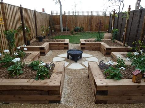 9 Best Concrete Log Sleepers Images On Pinterest Retaining Wall Garden Bed