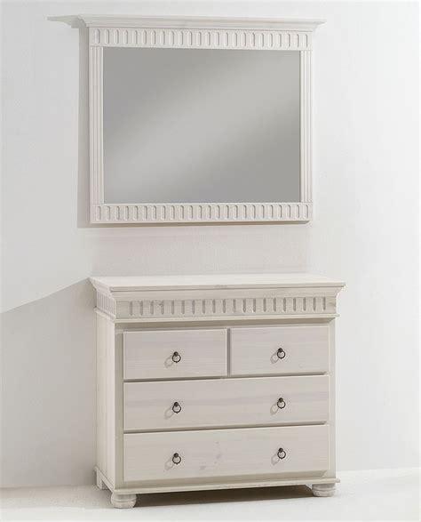 kleine kommode mit spiegel massivholz spiegel dielenspiegel mit kommode kiefer massiv