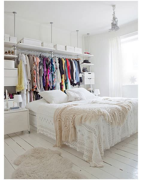 No Closet Storage Solutions by Top 6 Saturday Creative Closet Solutions