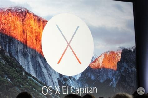 el capitan next version of os x to arrive this fall