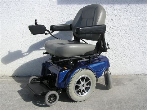 Motorized Chair by Wheelchair Assistance Mini Jazzy Power Wheel Chair