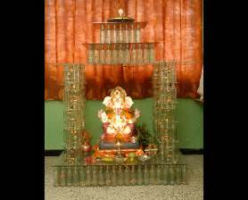 ganpati home decoration creative ganpati decoration ideas for home the royale