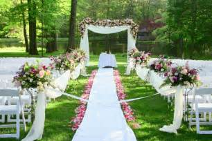 garden wedding wedding planning