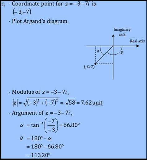 tutorial questions on complex numbers exle of question understand graphical representation