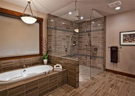 luxury bathroom showers photos hgtv