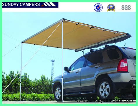 2017 4wd aluminium car side awning high quality vehicle