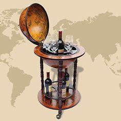 servierwagen bar gro 223 e globus bar hausbar globusbar wein regal minibar