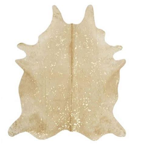 gold sparkle rug gold glitter cow hide rug yes furbish studio