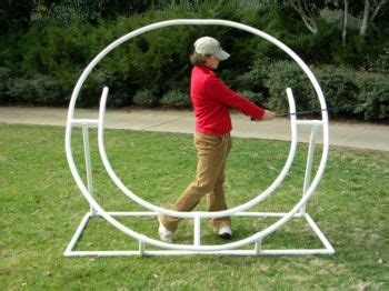 circular golf swing full circle swing trainer perfect my golf