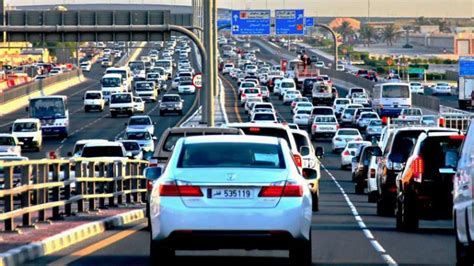 traffic congestion brings doha to standstill for second