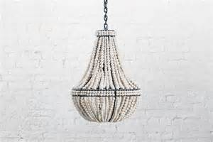 bead chandelier sash clay beaded chandeliers by klaylife my warehouse home