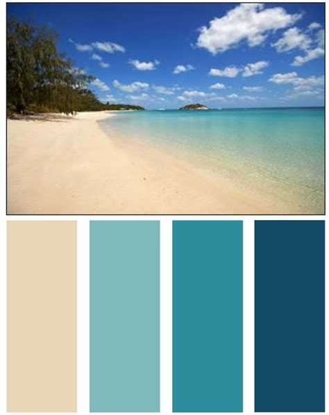 beach color best 25 ocean color palette ideas on pinterest color