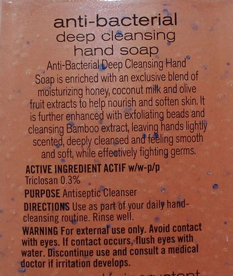 It Works Detox Cleanse Ingredients by Bath Works Bellini Anti Bacterial