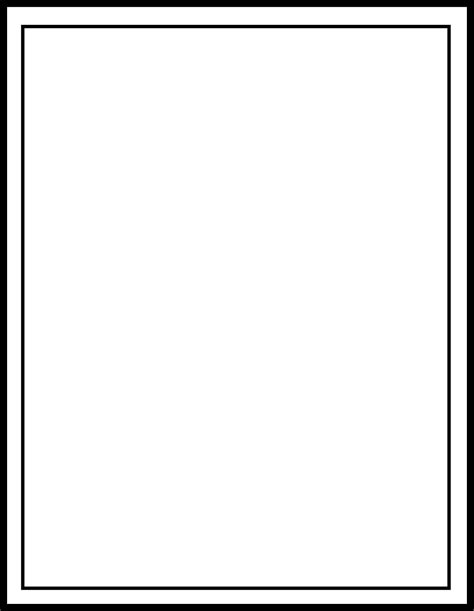 place card template border blank card word name card template