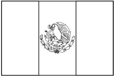 escudo bandera de mexico para colorear nocturnar bandera de mexico para colorear e imprimir