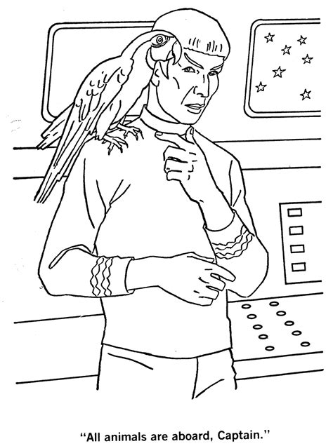 star trek the coloring book blog of much holding