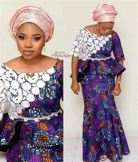 ankara blouses african belle in colourful ankara skirt and blouse trensty
