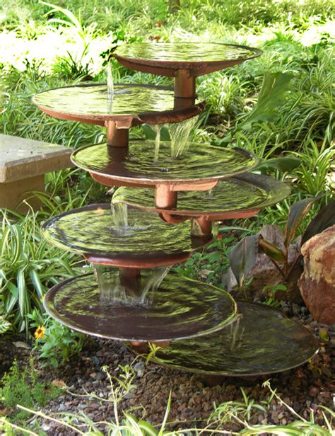 Garden Fountains And Outdoor Decor Home Garden Eclectic Outdoor Fountains And Ponds By Kevin Caron Studios