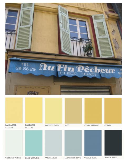 provence paint colors in yellow