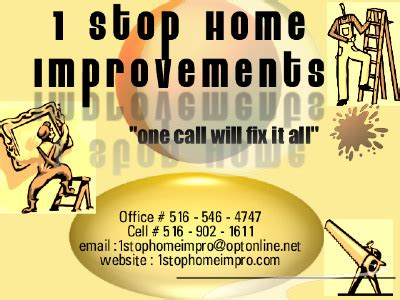 1 stop home improvements